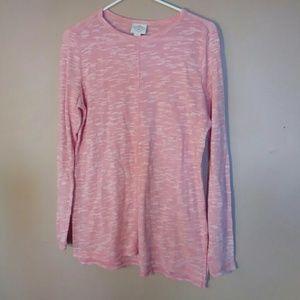 St. Johns Bay Small Pink Thin Knit Sweater